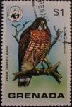 Stamps Grenada -  Wild Birds of Grenada and Wildlife Fund Emblem