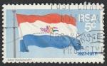 Sellos de Africa - Sudáfrica -  50 Anivº de la bandera nacional
