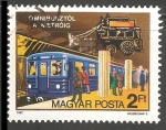 Stamps Hungary -  Omnibusztol ametroig