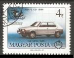 Sellos de Europa - Hungría -  Fiat 1899