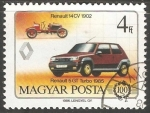 Stamps : Europe : Hungary :  Renault