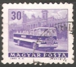 Stamps Hungary -  Sightseeing bus