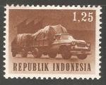 Sellos de Asia - Indonesia -  Camion