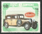 Sellos del Mundo : Asia : Camboya : Bugatti