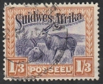 Stamps Africa - Namibia -  Fauna animal, alces