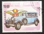 Stamps Cambodia -  Hispano Suizo