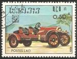 Sellos de Asia - Laos -  Nazzaro