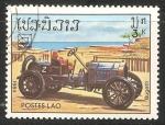 Sellos de Asia - Laos -  Bugatti