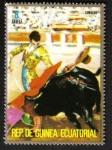 Sellos de Africa - Guinea Ecuatorial -  Corrida de toros