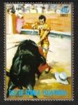 Stamps Equatorial Guinea -  Corrida de toros