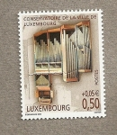 Stamps Europe - Luxembourg -  Organos musicales