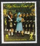 Stamps Equatorial Guinea -  Isabel II, Coronación 25, la ceremonia