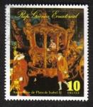 Sellos de Africa - Guinea Ecuatorial -  Isabel II, Coronación 25, la ceremonia