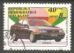 Sellos de Africa - Madagascar -  Toyota