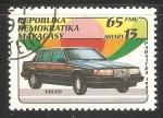 Sellos de Africa - Madagascar -  Volvo
