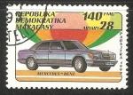 Sellos del Mundo : Africa : Madagascar : Mercedes Benz