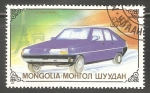 Sellos del Mundo : Asia : Mongolia : Citroen BX