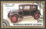 Stamps Mongolia -  Tatra 11 1923