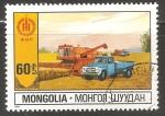 Sellos de Asia - Mongolia -   Agriculture