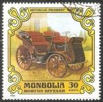 Sellos de Asia - Mongolia -  Motorcar President