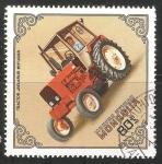 Stamps Mongolia -  Tractor Belarius