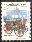 Sellos de America - Nicaragua -  Dalm 1886ier