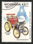 Sellos del Mundo : America : Nicaragua : Renault 1899