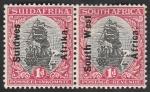 Stamps Africa - Namibia -  Barco de Van Riebeeck