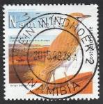 Stamps Africa - Namibia -  Ave calendulauda erythrochlamya