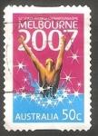 Sellos de Oceania - Australia -  2664 - Mundiales de natación, en Melbourne