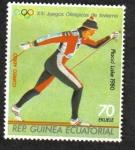 Sellos de Africa - Guinea Ecuatorial -  Juegos Olímpicos de Invierno 1980 , Lake Placid