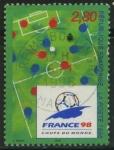Sellos del Mundo : Europa : Francia :  2985 - Mundial de fútbol Francia 98
