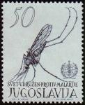 Sellos del Mundo : Europa : Yugoslavia :  Lucha contra la malaria