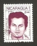 Sellos de America - Nicaragua -  1252 - Eduardo Contreras Escobar, héroe de la revolución