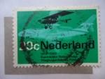 Stamps Netherlands -  Fabrica de Aviones Fokker. 1919-1969.