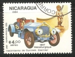 Sellos de America - Nicaragua -  metallurgique 1907