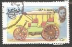 sello : Asia : Omán : I H C 1907 USA