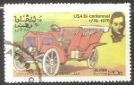 Sellos de Asia - Omán -  White Steam Engine 1906 USA