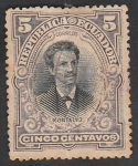 Stamps : America : Ecuador :  Juan Montalvo