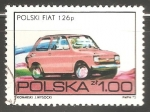 Sellos del Mundo : Europa : Polonia : Polski Fiat 126 p
