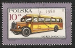 Stamps Poland -  Saurer zawrat 1936
