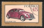 Stamps Poland -  Lux Sport 1936
