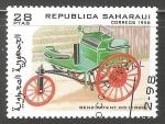 Sellos de Asia - Arabia Saudita -  Benz Patent