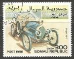 Sellos del Mundo : Africa : Somalia : Bugatti 1913