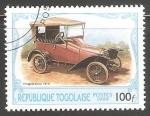Sellos del Mundo : Africa : Togo : Peugeot 1913