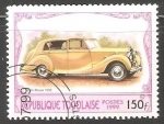 Stamps Togo -  Roll Royce 1950