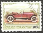 Sellos del Mundo : Africa : Togo : Stutz Bearcat 1921