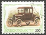 Stamps Oceania - Tonga -  Ford Coupe