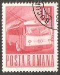 Sellos de Europa - Rumania -  Trolebus