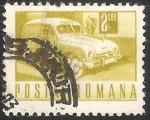 Sellos de Europa - Rumania -  Coche